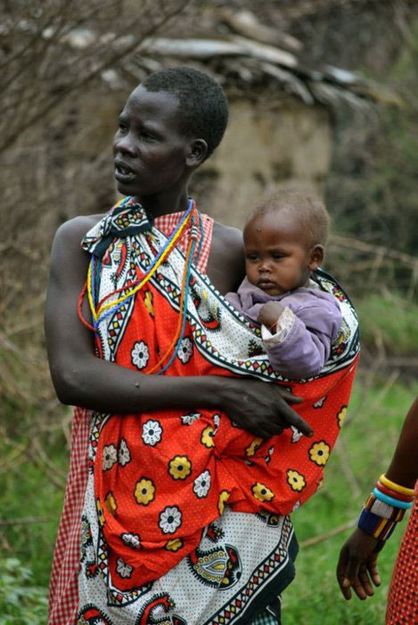 Maasai Babywearing Kenya Tanzania