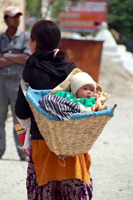 Babywearing Basket in India