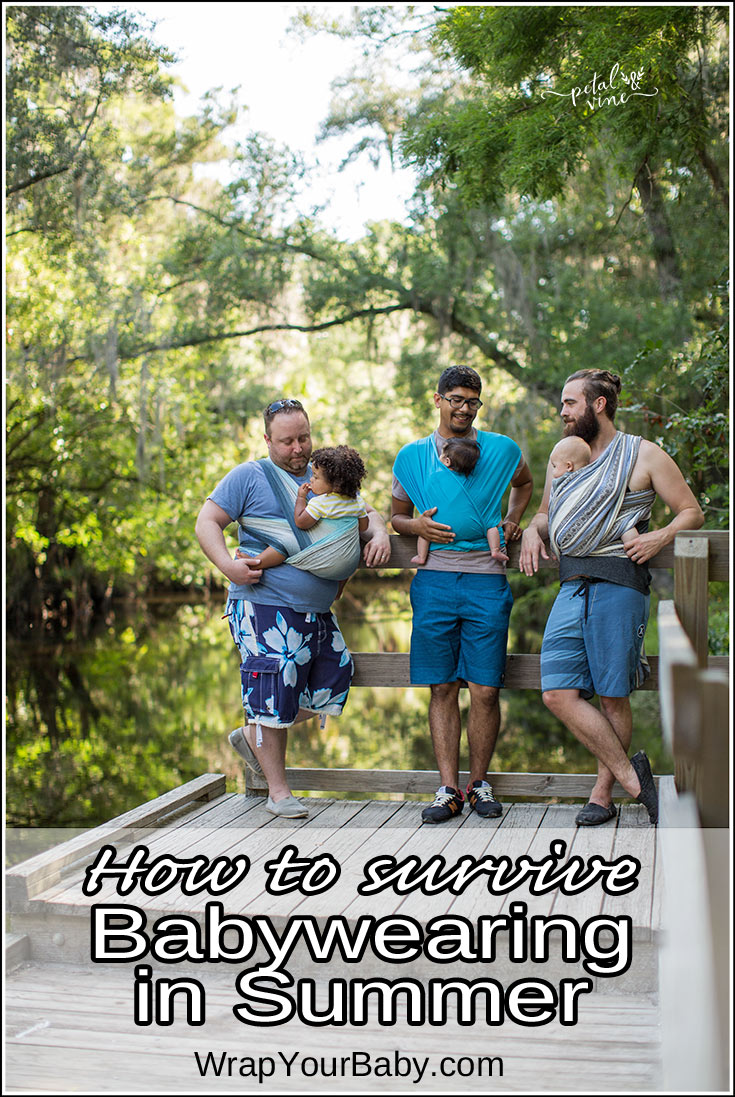 Babywearing in the Summer - a Survival Guide