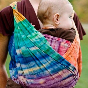 Batik Rainbow Wrapsody Hope Wrap
