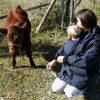 With Baby in Deluxe Kindercoat