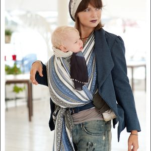 Ellevill Zara Tri Blue Wrap