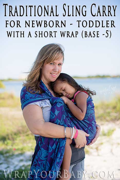 Traditional Sling Carry - formerly Rebozo Carry