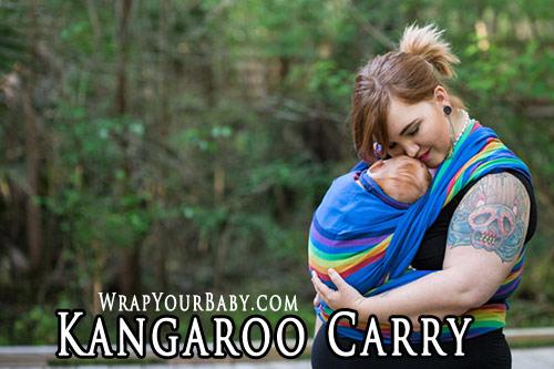 Kangaroo Carry for Woven Wraps