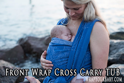 Front Wrap Cross Carry Tied Under Bottom (TUB)