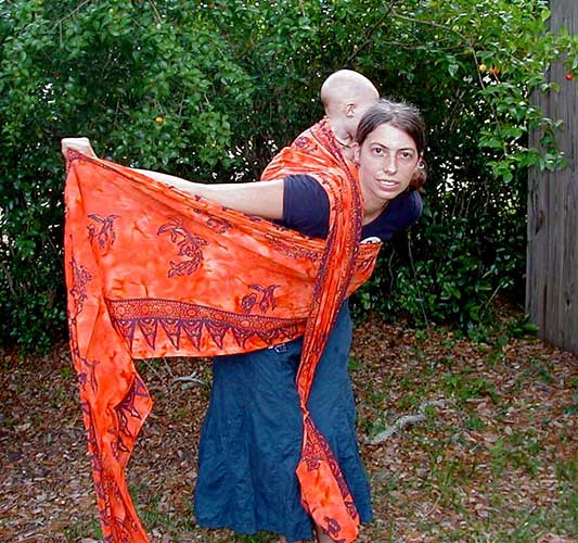 Double Hammock Carry (DHC), step 5