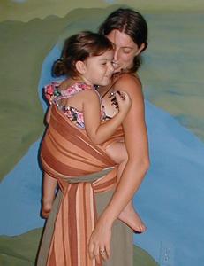 Hip Cross Carry (HCC) with pre-schooler