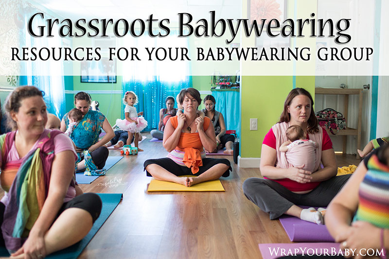 Babywearing Group Resources, Credit and Giveaway