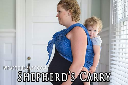 Shepherd's Back Carry for Woven Wraps