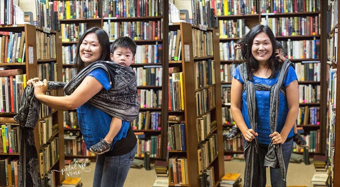 Double Sling Shoulder to Shoulder Tute, step 4