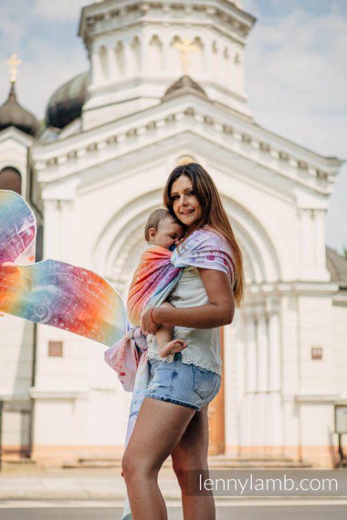 Lenny Lamb Symphony Rainbow Light Wrap