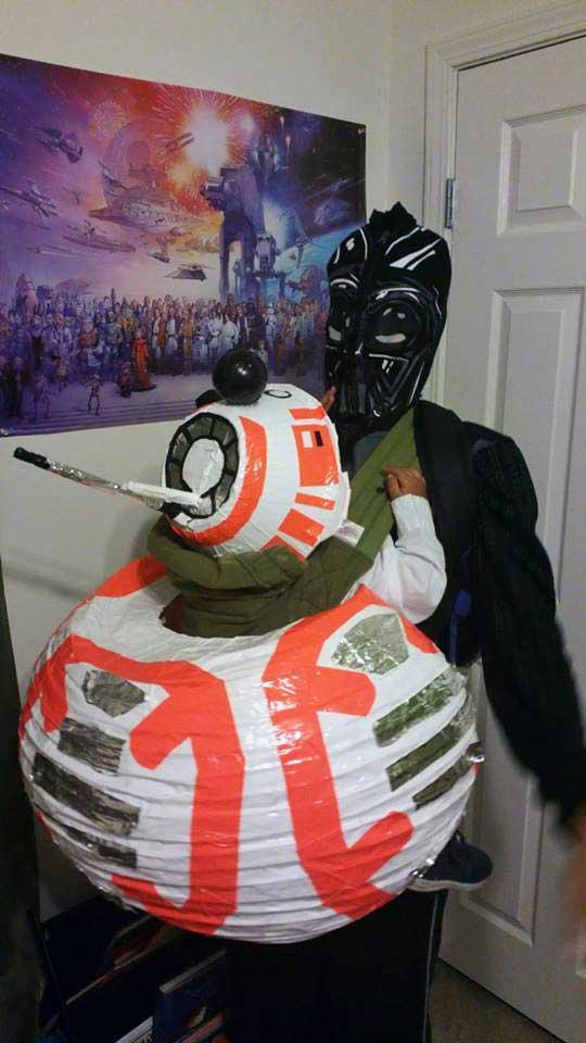 BB8 Star Wars Babywearing Costume
