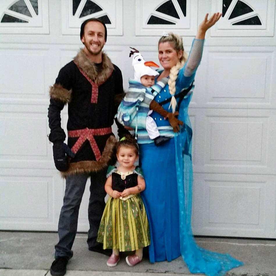 Elsa Family Babywearing Costume