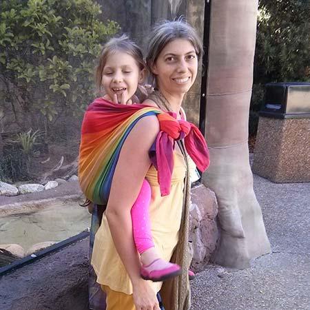Preschooler in Rucksack Carry TAS