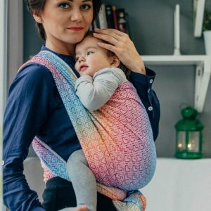 Lenny Lamb Big Love Rainbow Wrap Baby Carrier