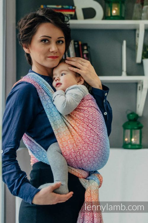 Lenny Lamb Big Love Rainbow Wrap Baby Carrier
