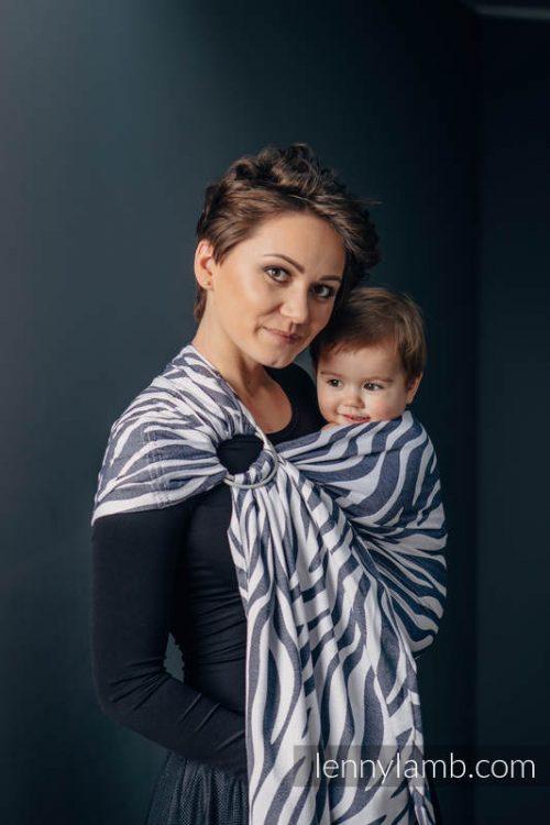 Lenny Lamb Zebra Ring Sling Baby Carrier