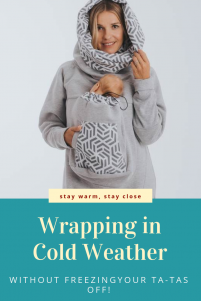 Babywearing Sweatshirt Keeps You and Baby Warm