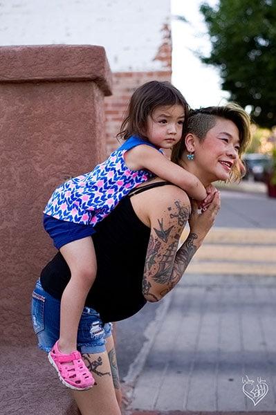 Toddler Rucksack Tied Tibetan Finish step 1