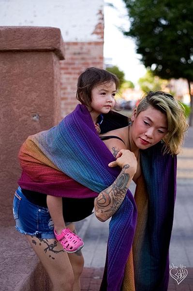 Toddler Rucksack Tied Tibetan Finish step 2