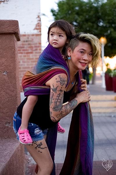 Toddler Rucksack Tied Tibetan Finish step 7