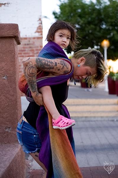 Toddler Rucksack Tied Tibetan Finish step 8