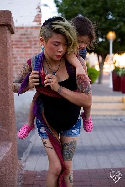 Toddler Rucksack Tied Tibetan Finish step 9