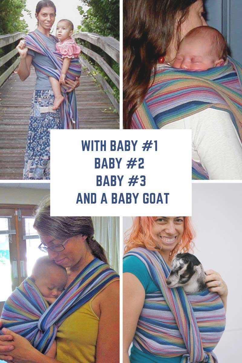 Storchenwiege Inka 3 babies