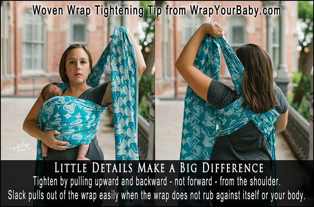 How to Tighten a Woven Wrap