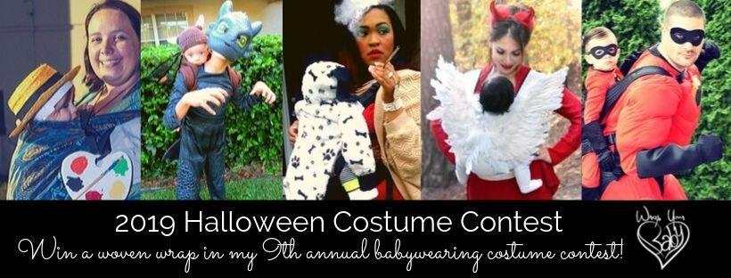 Babywearing Costume Contest Halloween 2019