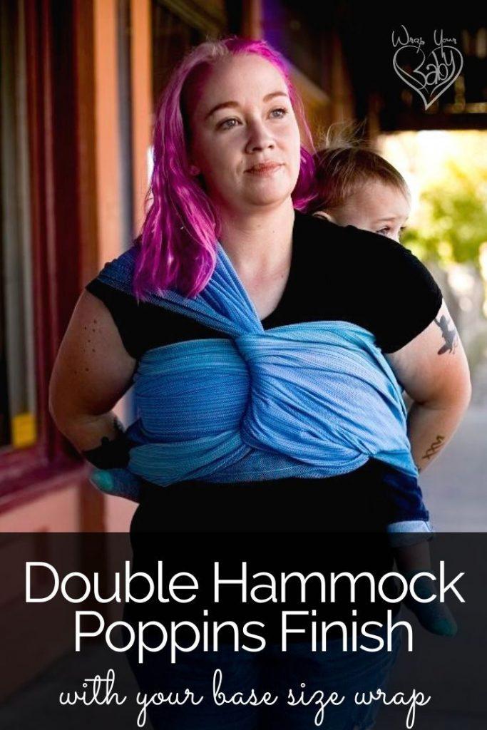 Double Hammock Poppins Finish Tutorial