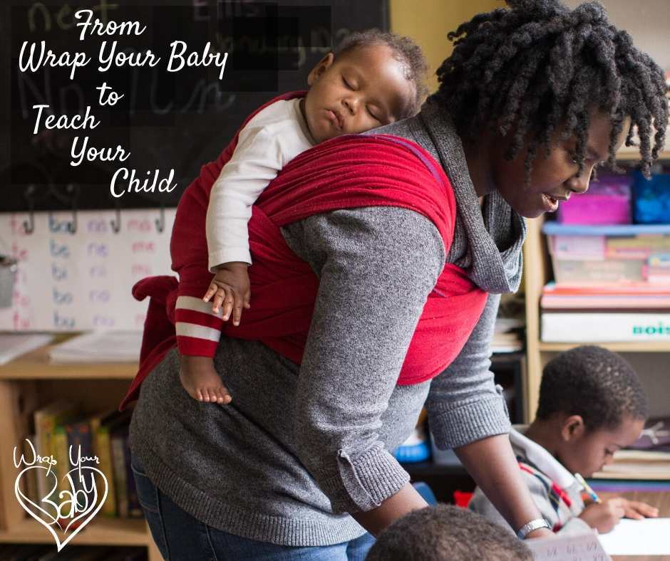 Easily homeschool kids - from Wrap Your Baby to Teach Your Child - the natural journey from babywearing mom to homeschooling mom
