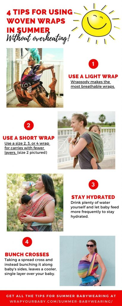Babywearing in Hot Weather
