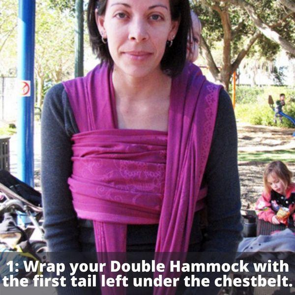 Saltwater Double Hammock Step 1